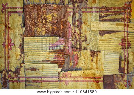 Corrugated Scotland Lion Rampant Flag