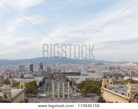 Beautiful View Of Barcelona