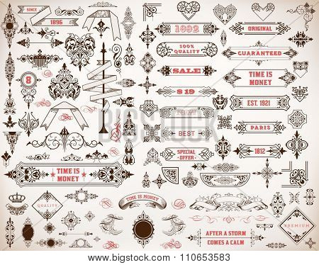 Mega set of design elements