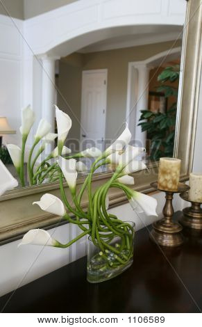 Lilies In Home Interior
