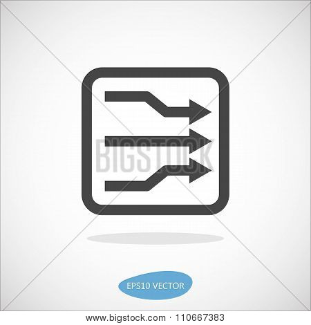 Dslam Icon - Isolated Vector Illustration