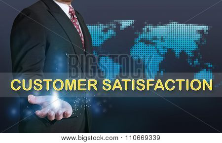 Customer Satisfaction, Business Concept