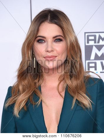 LOS ANGELES - NOV 22:  Ashley Benson arrives to the American Music Awards 2015  on November 22, 2015 in Los Angeles, CA.