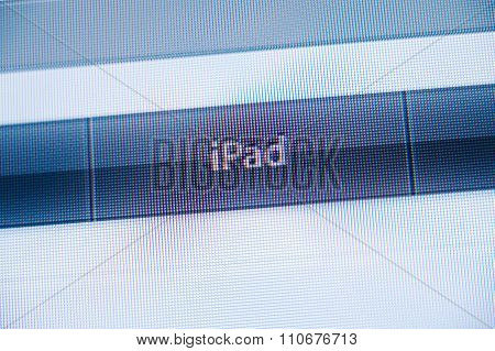 Ipad Button In The Non Flat Design Of Apple Computers Webist