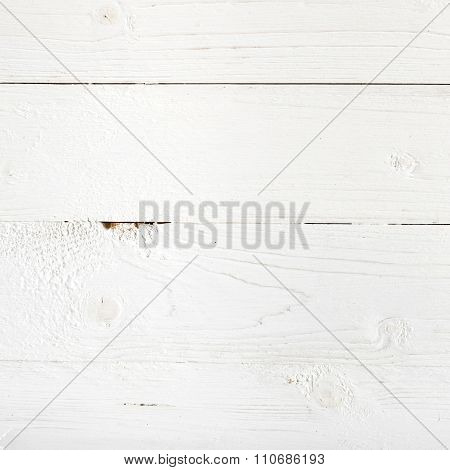 texture of a white wood table background