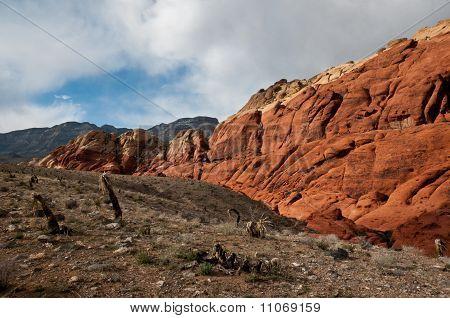 Red Rock Canyon Deep Inside