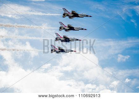 Thunderbirds Over The Clouds