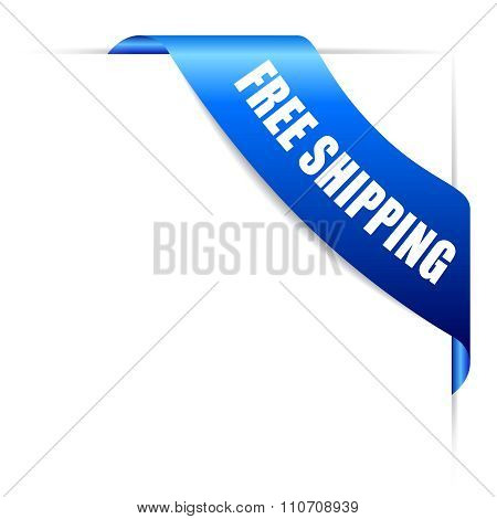 Free shipping ribbon