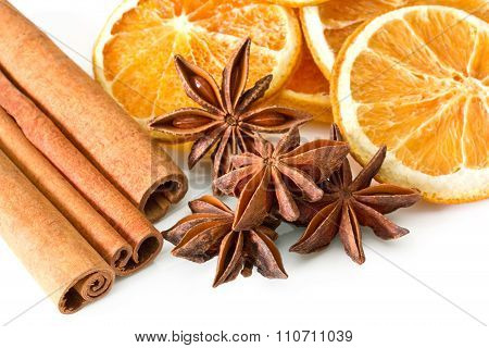 Cinnamon Anise Oranges