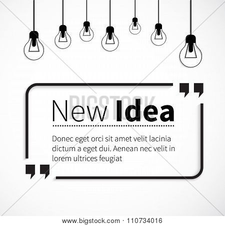 Phrase New Idea in Isolation Quotes