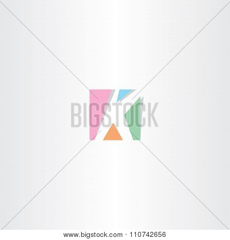 Square Letter K Logo K Icon Design