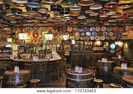 Delirium Cafe In Brussels, Belgium