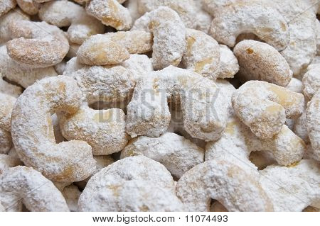Vanilla roll cookies