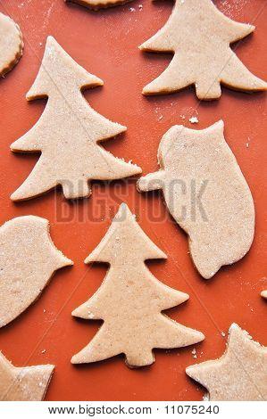 Xmas gingerbread cookies