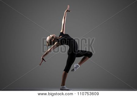 Gymnast Girl Performance