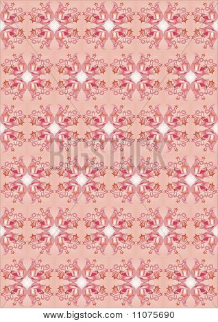 background repeating pattern and wellpaper in red color