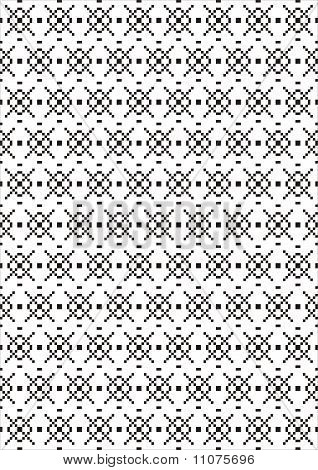 background repeating pattern and wellpaper in black white color