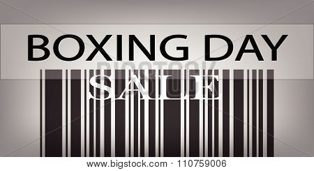Boxing Day Barcode For Special Price Products
