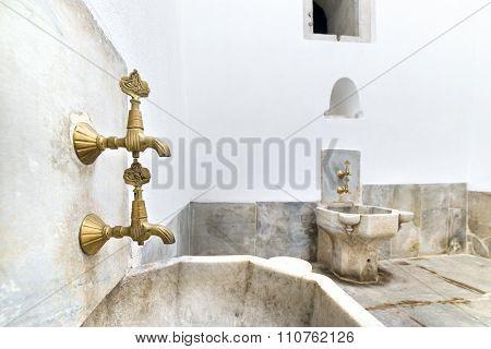Hamam (Turkish Bath) Inside Topkapi Palace Harem, Istanbul, Turkey