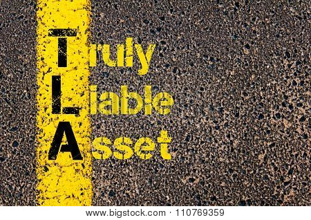 Accounting Business Acronym Tla Truly Liable Asset
