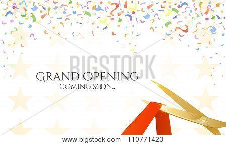 Grand Opening Celebrities Illustration