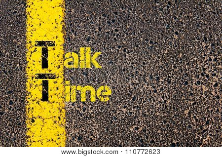 Accounting Business Acronym Tt Talk Time