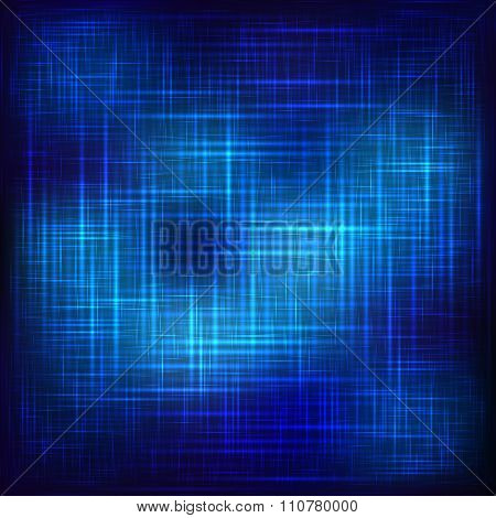 Abstract blue shining background