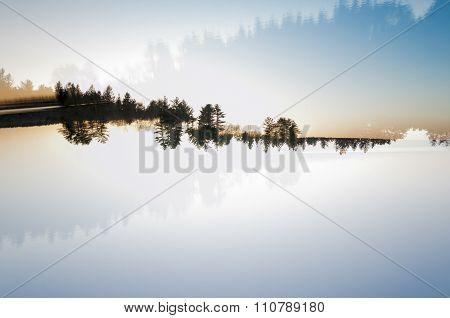 Landscape Double Exposure