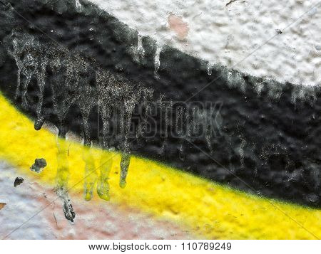 Close Up Of Plastered Painted Old Wall 10