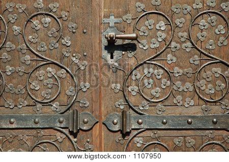 Ensisheim Church Door (France)