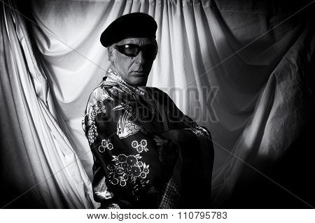 Mystic Man With Arms Folded