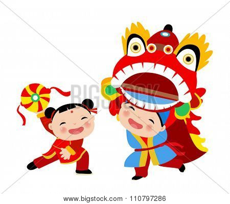 Happy Chinese New Year/Lion Dance
