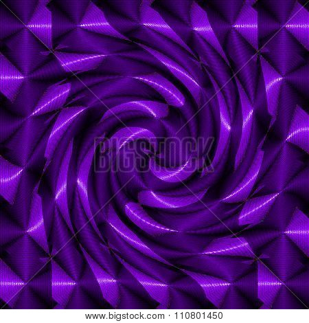 Purple psychedelic spiral
