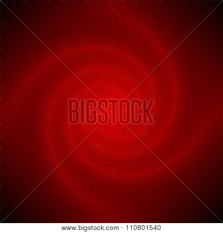 Red psychedelic spiral