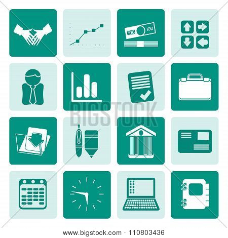 One tone Business and Office icons
