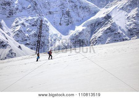 Caucasus. Mountain Landscape
