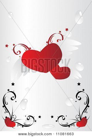 Vector Love Hearth Illustration