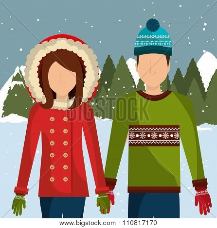 Winter fashion wear and accesories