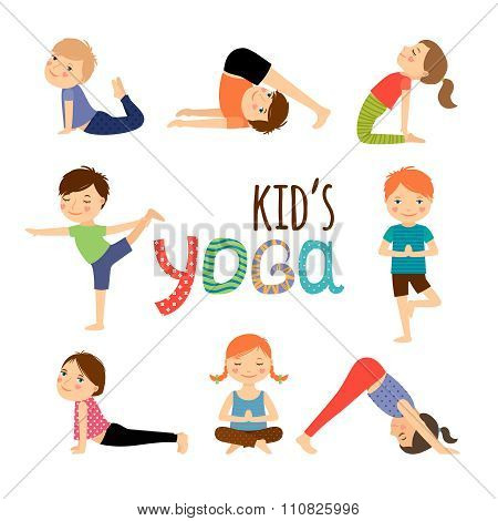 Yoga kids set