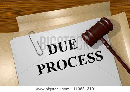 Due Process Concept