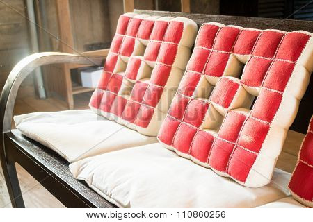 Wooden Chair In The Room
