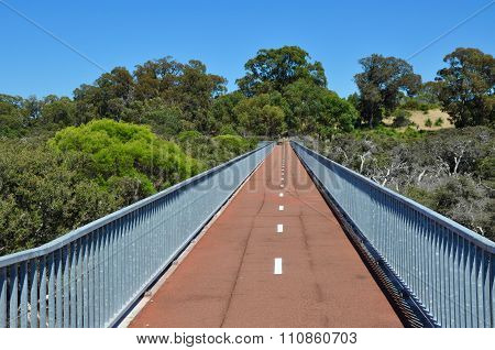 Pedestrian Bridge Perspective
