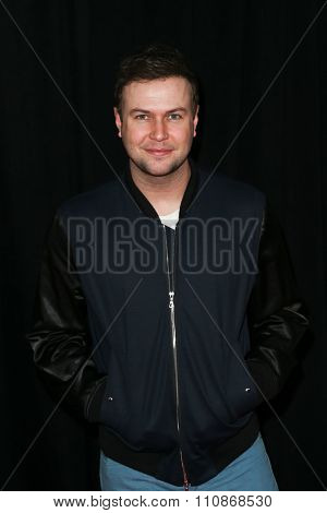 NEW YORK-DEC 8: Actor Taran Killam attends the premiere of