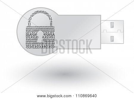 Secure Usb drive concept