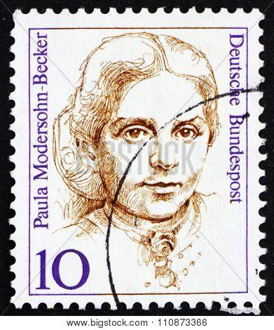 Postage Stamp Germany 1988 Paula Modersohn-becker, Painter