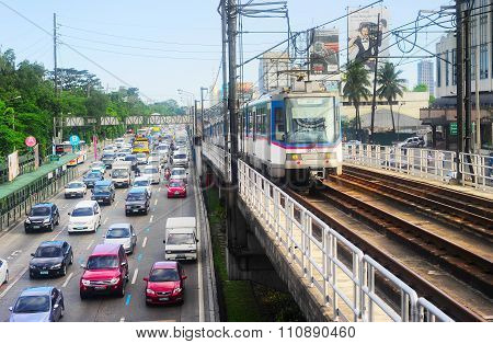 Manila Traffic, Philippines