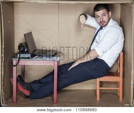 Sad Business Man