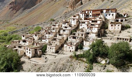 Lingshedgompa - Buddhist Monastery In Zanskar