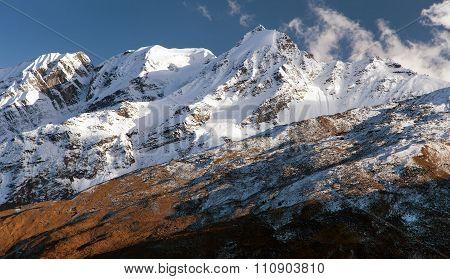 Mountains Around Jang La Pass, Great Himalayan Range