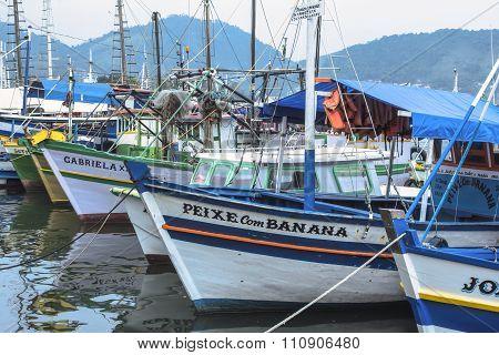 Brazilian Fishing Boats